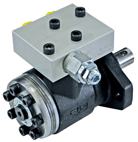Hydraulic drive motor with a constant speed valve for Hydraulic motor control valve